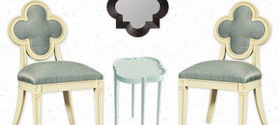 OB-Quatrefoil furniture