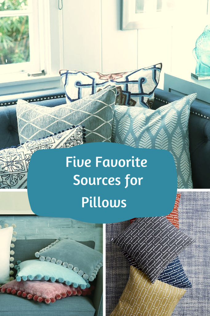 Five favorite sources for new pillows